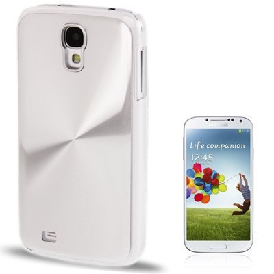 CD Texture Metal Paste Skin Crystal Case per Samsung Galaxy S IV / i9500(Silver)