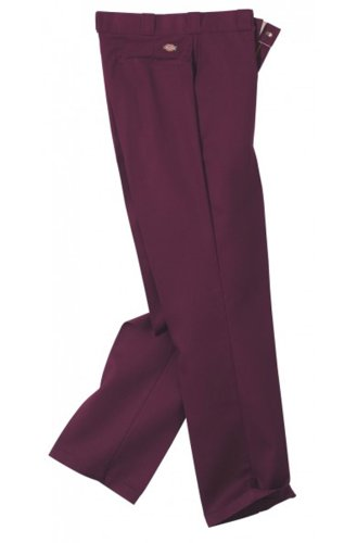 Dickies 874MR Pantaloni da uomo Maroon Dickies874 Dickies O Dog Pants