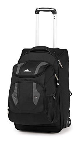 High Sierra Adventure Access Carry On Wheeled BACKPACK with removable daypack - High Sierra Wheeled Backpack