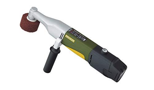 Proxxon 29825 Akku-Walzenschleifer (Schleifgerät) -1.100-2.600 U/min, Ø 50 mm-Veredelung von Oberflächen
