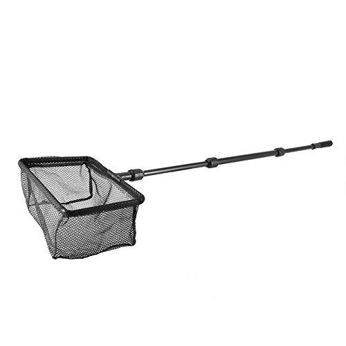 Pssopp Aquarium Fish Netze Fish-Net Aquarium Angeln Kescher Retractable Fish Tank Fischernetz mit Einziehbar Griff für Aquarien Aquarium, Netzgroße 12 cm, zum Fangen Sie leicht und sanft Fische(M)
