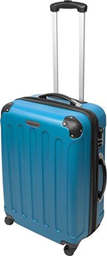 Farbauswahl!! 3 tlg. Reisekofferset Koffer Kofferset Trolley Trolleys Hartschale Farbe Hellblau -