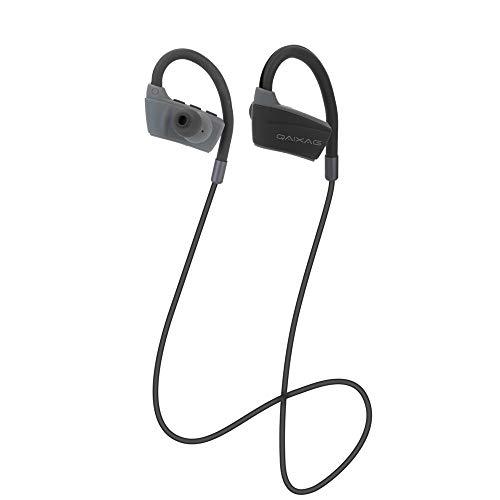 Elospy Bluetooth KopfhörerOhrhaken in Ear magnetisches Headset, mit Rauschunterdrückung CVC 6.0/5-Stunden-Spielzeit/Mikrofon, federleicht für iPhone, iPad, Samsung, Huawei, HTC und mehr
