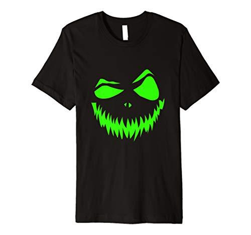 (Halloween Kürbis Gesicht Kostüm T Shirt)