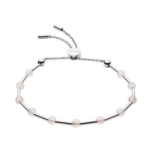 SKAGEN Damen-Gliederarmbänder Edelstahl Glas SKJ1191040