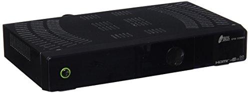 Iris Electrónica 9700 COMBO - Receptor satélite (WiFi, HDMi, DVB-T2), color negro