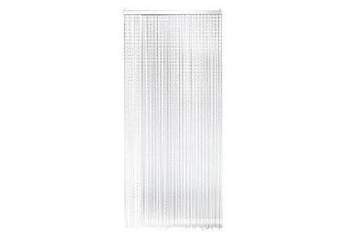 Kobolo Türvorhang Perlenvorhang Drops Kunststoffperlen 90x200