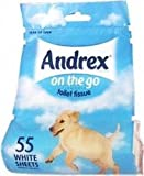 THREE PACKS of Andrex On The Go Toilet Tissue Roll by Andrex Bild