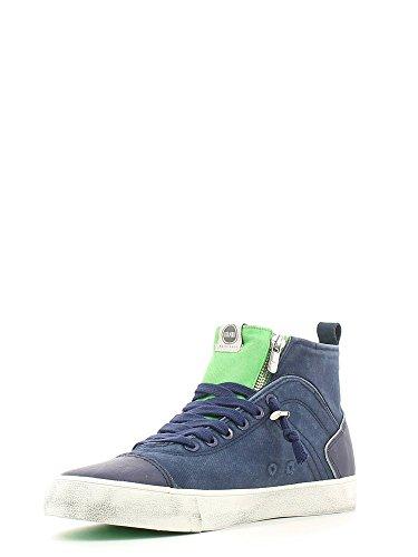 Scarpe sneaker uomo/donna Colmar Originals mod. MU Durden Colore 007 - Navy Green Taglia 40 Navy Green