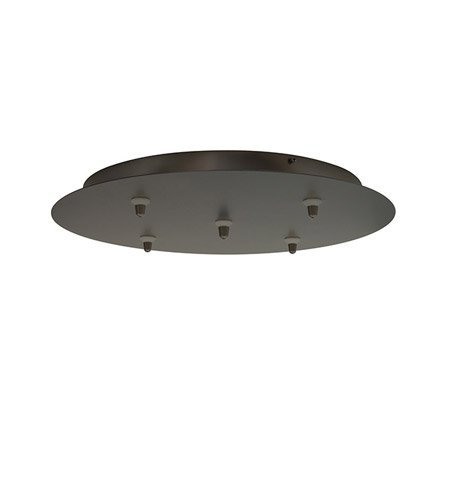 LBL CK005B-FJ-SC-277 Fusion Jack 5 Light Round Canopy by LBL