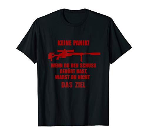 Herren Gewehr G 22 Sniper Shirt für Soldaten Gamer Kameraden T-Shirt -