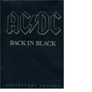 Back in Black Collectors Edition with T Shirt