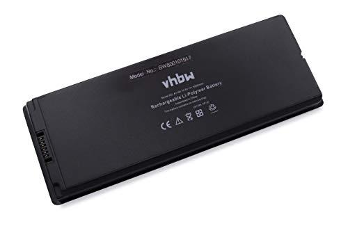vhbw Li-ION Batterie 5000mAh (10.8V) Noir pour Laptop Notebook Apple MacBook 13 Zoll, 13\