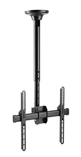 HALTERUNGSPROFI Deckenhalterung Neigbar 360 Grad drehbar für 37 40 42 46 47 50 55 Zoll VESA bis 400 x 400 optimal für LCD und LED Fernseher von Panasonic, Sony, Samsung, LG und Toshiba FullHD 4K UHD HALTERUNGSPROFI DH4001