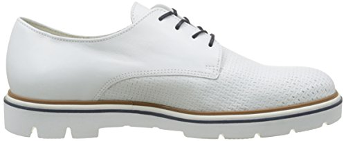Gabor Shoes Fashion, Scarpe Stringate Donna Bianco (weiss 21)