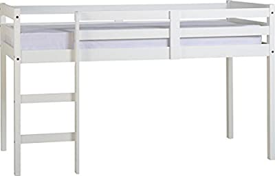 Panama Mid Sleeper Bed in White produced by Home Essentials Inc - quick delivery from UK.