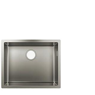 hansgrohe S719-U500 Undermount Sink 500, stainless steel
