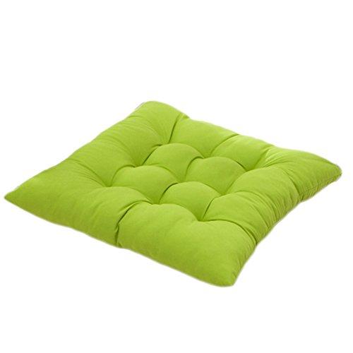 Worsendy cómodos cojines para silla cojines de terraza, Almohadillas de  asiento cómodo, cocina de jardín Cojines de silla de comedor 40 x 40 x 5 cm  ...