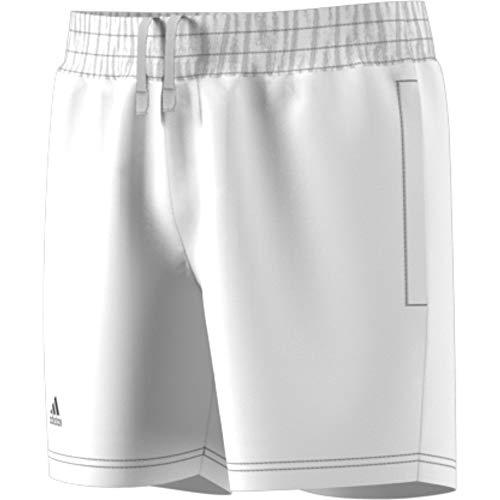 adidas Jungen Club Shorts, White/Black, 164