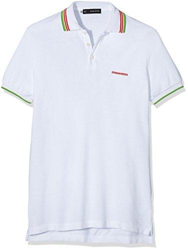 DSQUARED2 Herren T-Shirt Chalk-white 961, S