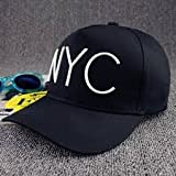#10: ILU NYC Men's & Women's Baseball & Snapback Cap Sports Cap Black Color Freesize