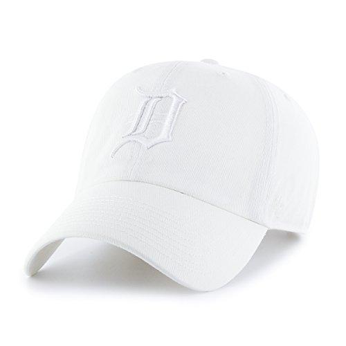 '47 brand MLB Detroit Tigers Clean Up Cap allwhite