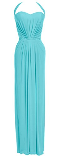 MACloth - Robe - Dos nu - Sans Manche - Femme Turquoise - Turquoise