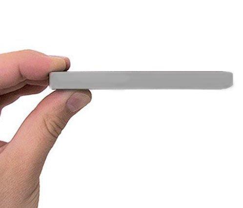 Bipra Externe Festplatte (80GB, 63,5mm/ 2,5Zoll, USB 2.0), silberfarben
