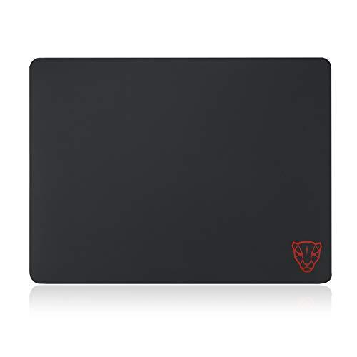 ZUEN Surface Supremacy Surface Gaming Mousepad, präzises Tracking für optische Mäuse und Lasermäuse, unglaublich geringe Reibung für schnell reagierende Bewegungen, schwarz