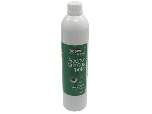 Gun Paintball (Abbey Gun Gas 144a, Softair / Airsoft Gas für GBBs und NBBs - 700ml (rel. schwach))