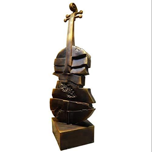 SFM MSF Adornos Creativo violín Escultura Arte decoración