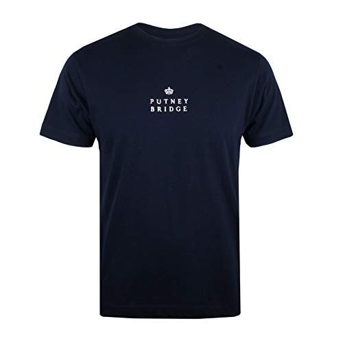 Putney Bridge (Putney Bridge Herren Putney Crown T-Shirt, Blau (Navy NVY), XL)