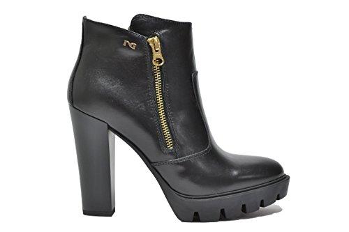 Nero Giardini Tronchetti scarpe donna nero 6501 A616501D 37