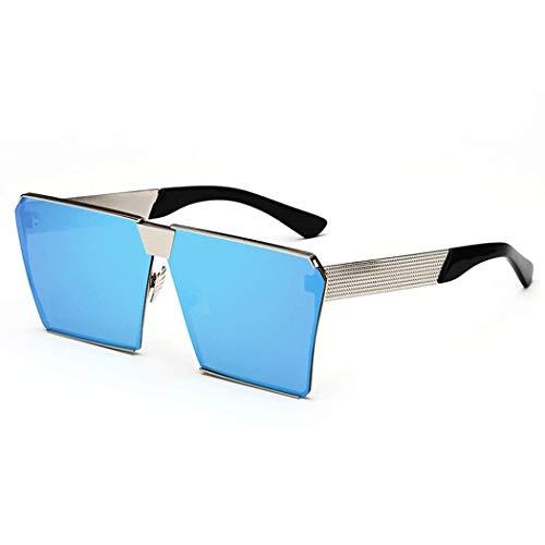 Sonnenbrille Korean Star Mit Dem Netz Rote Brille Spiegel Weibliche Flut Farbfilm Quadrat Sonnenbrille Rundes Gesicht Persönlichkeit Mode Wilde Sonnenbrille