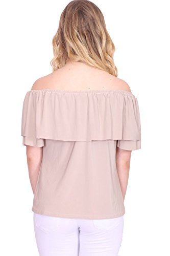 Generic - Robe - Manches Courtes - Femme X-Small Stone Top