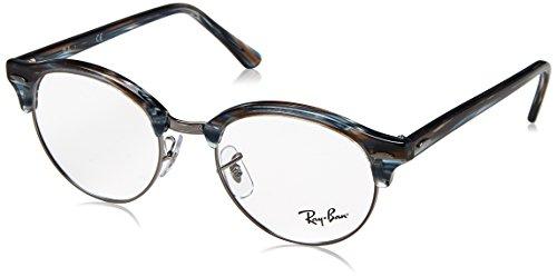 Ray-Ban Unisex-Erwachsene 0RX 4246V 5750 49 Brillengestelle, Blau (Blue/Grey Spped)