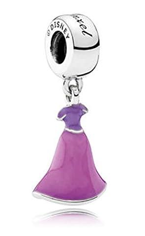 Pandora Disney Rapunzel's Dress Dangle 791819ENMX
