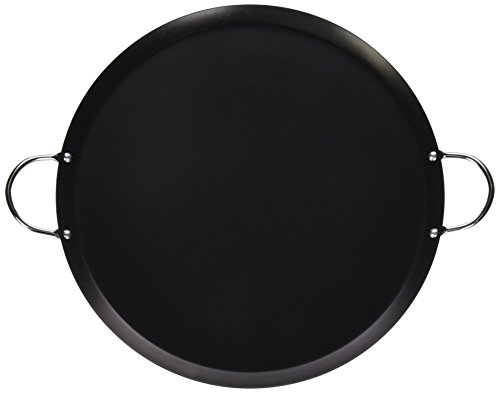 "IMUSA 13.5"" Large Round Comal, Carbon Steel"