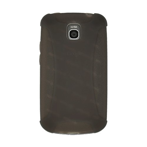Amzer AMZ89804 Silicone Skin Jelly Case for LG Optimus One P500 (Grey)  available at amazon for Rs.239