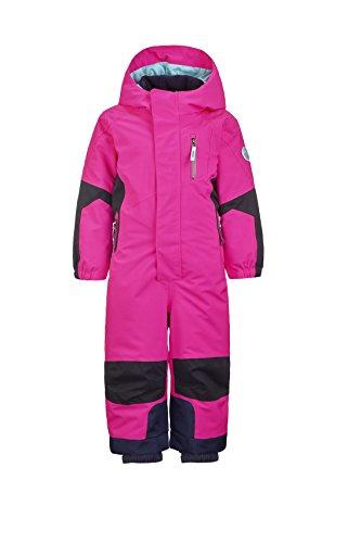 Killtec Mädchen Rompy Mini Schneeanzug, neon pink, 122/128