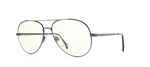ZEISS 9343 1703 Grey Certified Vintage Aviator Sunglasses For Mens