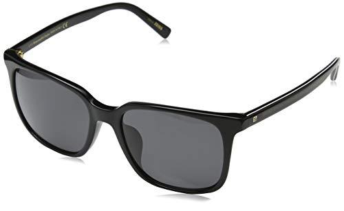 Ermenegildo zegna sonnenbrille ez0019-d occhiali da sole, nero (schwarz), 58.0 uomo