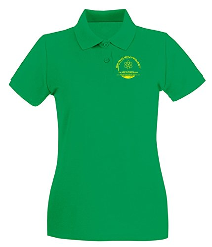 T-Shirtshock - Polo pour femme TF0095 Inspired by The Incredible Hulk Vert