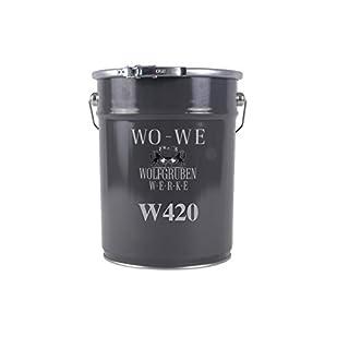 Holzlack Möbellack Lack Holzfarbe WO-WE W420 REIN-WEISS ähnl. RAL 9010 5L