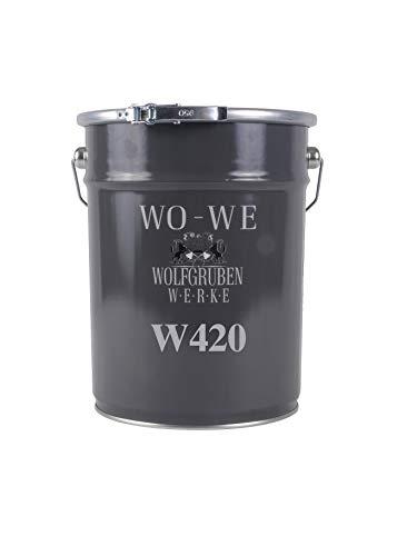Holzlack Holzdecklack Holzschutz Tor Zaun W420 RAL 7016 ähnl. Anthrazitgrau 10L