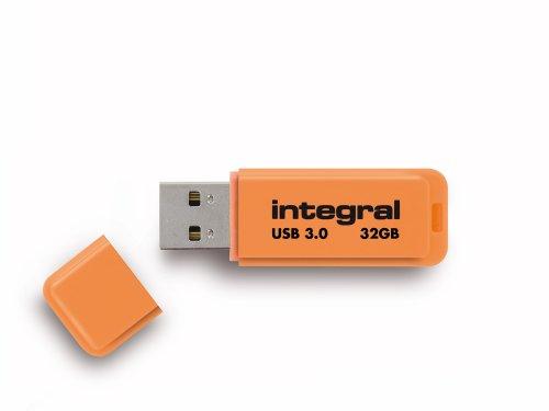 Integral Neon 32GB USB-Stick USB3.0 orange -