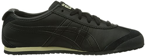 Onistuka Tiger Mexico 66- Sneakers Basses Mixte adulte Noir (Black/Black 9090)