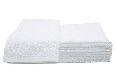 Set biancheria in spugna in colore bianco da ZOLLNER®  I bellissimi asciugamani di ZOLLNER® sono fatti di voluminosa e morbidissima spugna in classe di peso elevata a un prezzo incredibilmente favorevole. A partire dalla grandezza 50/100 cm ...