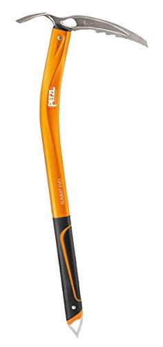 PETZL, Piccozza da Ghiaccio Adulto Summit Evo, Arancione (Orange), 52 cm