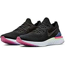 the best attitude 9cb06 dbb38 Nike Epic React Flyknit 2, Chaussures de Running Homme, Schwarz  Black-Sapphire-